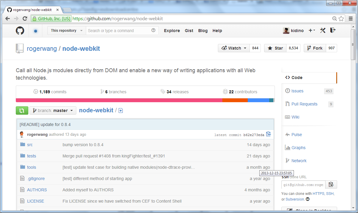 node-homepage