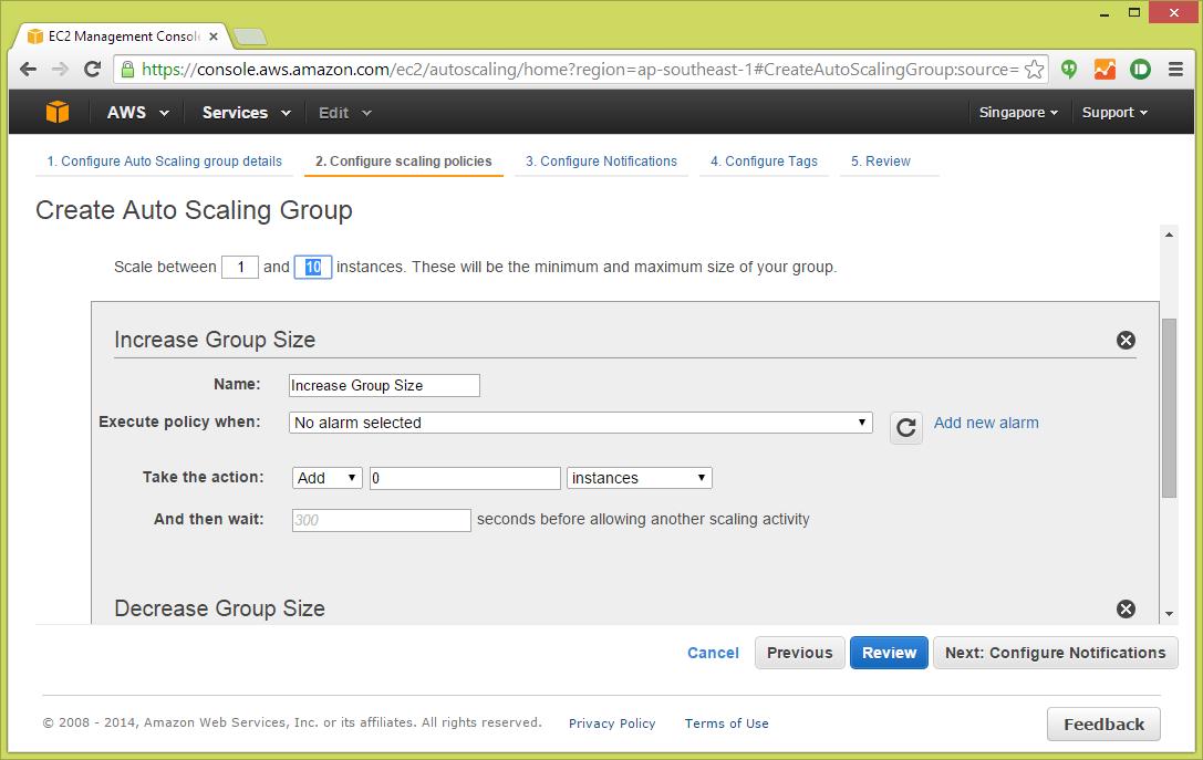 Kemaskini Kod Git Push untuk Server AutoScaling di Amazon Web Service (AWS)