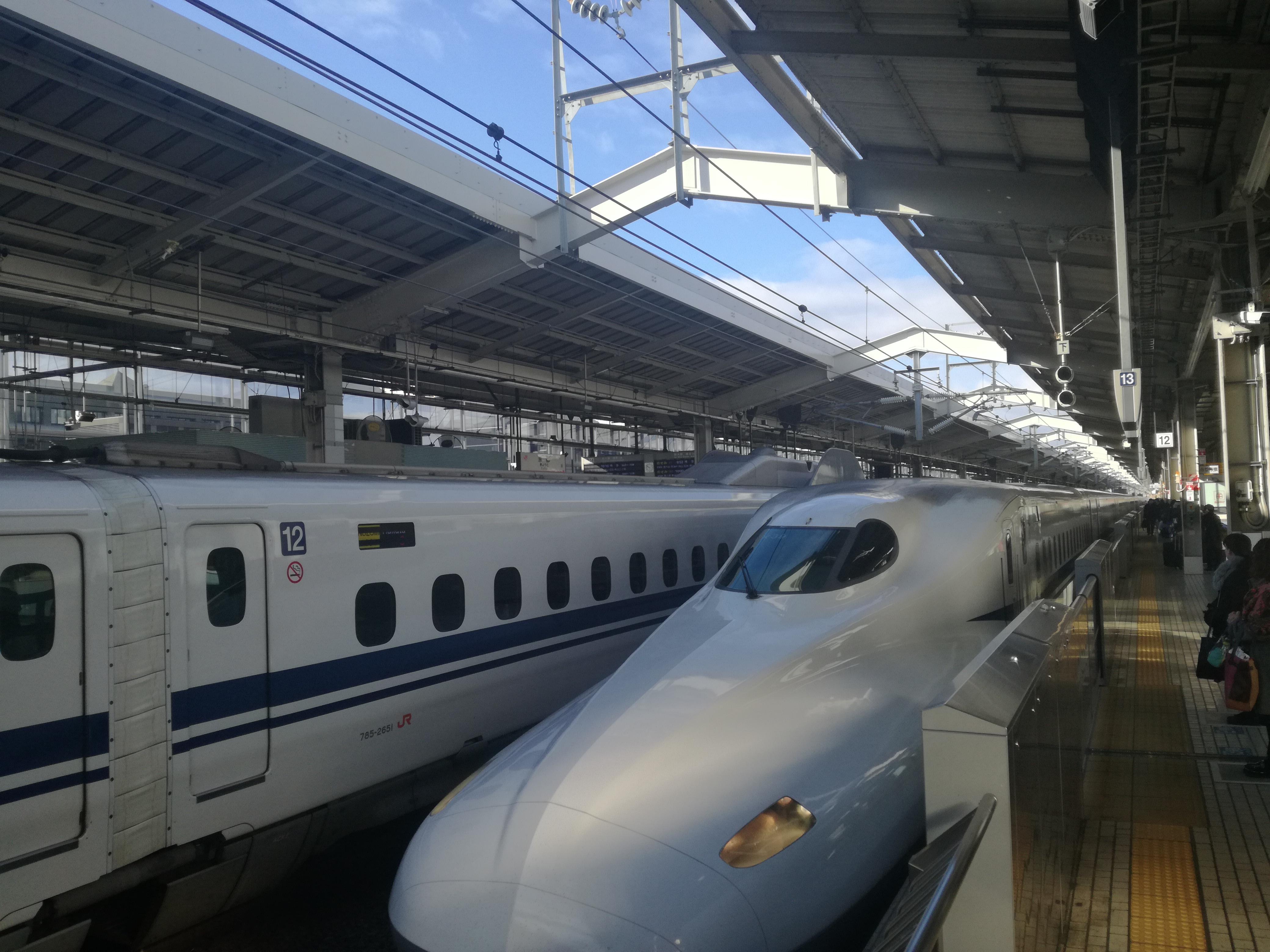 Jangan Tertinggal Keretapi Laju JR Shinkansen