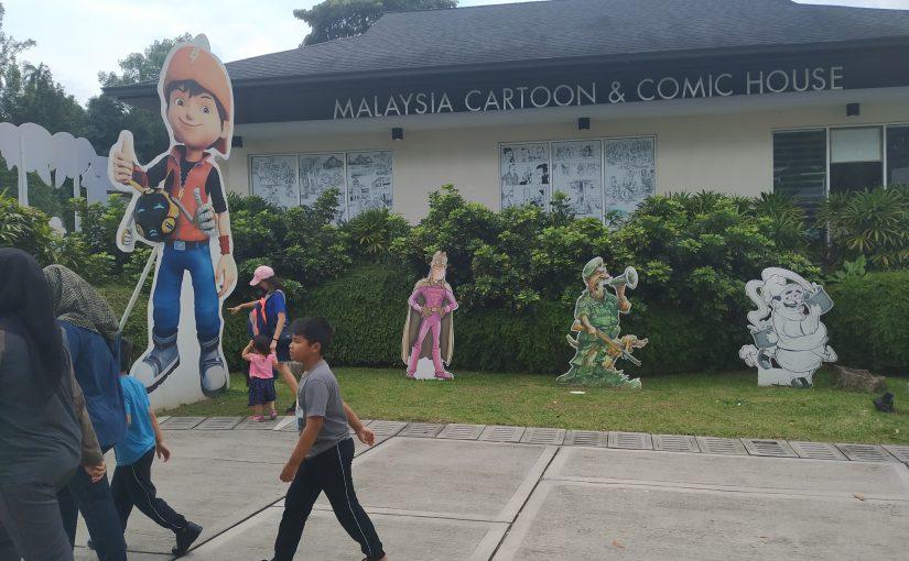 Berkenalan dengan Kartunis Tazidi di Malaysia Cartoon & Comic House
