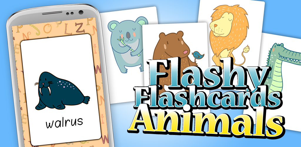 Flashy Flashcards Animal Android App