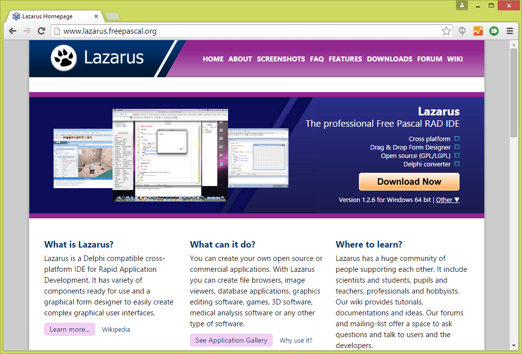 Lazarus Website