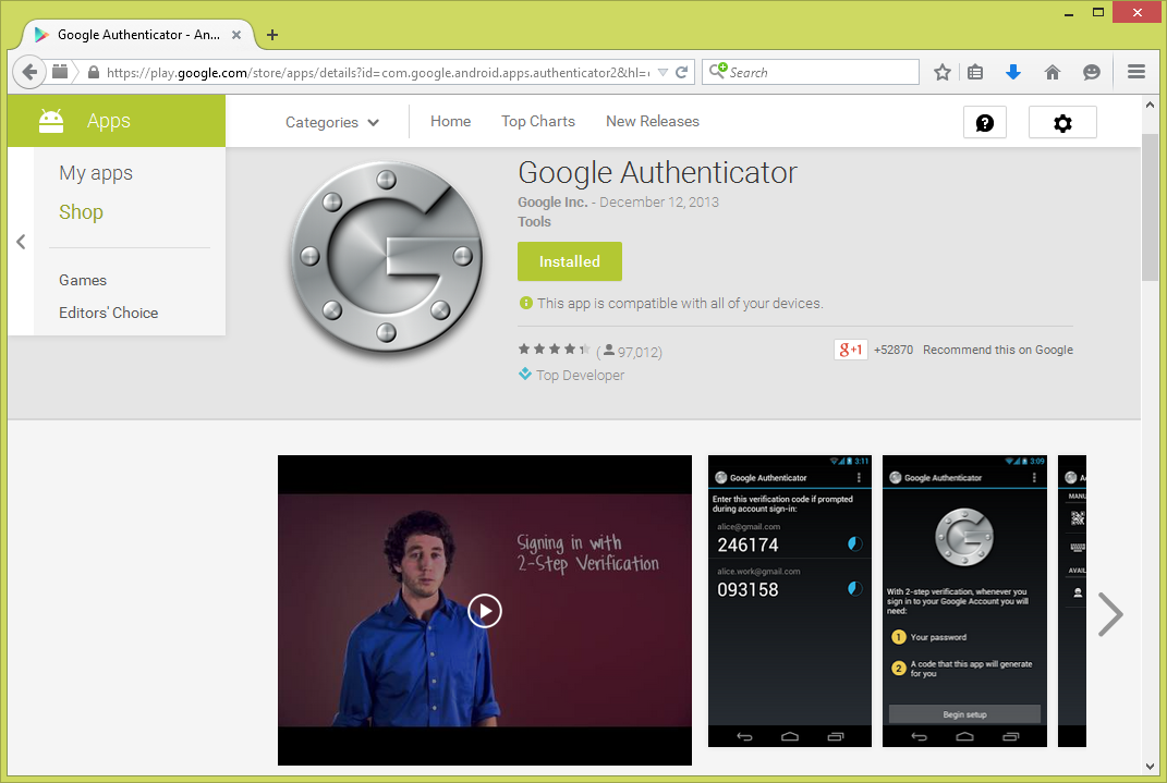 Membina Two-Factor Authentication (2FA) Dalam Sistem PHP Menggunakan Google Authenticator